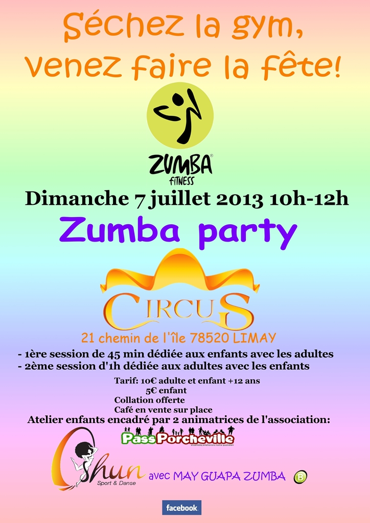 Zumba party du 07 07 2013 passporcheville - Https reglement pass fr ...